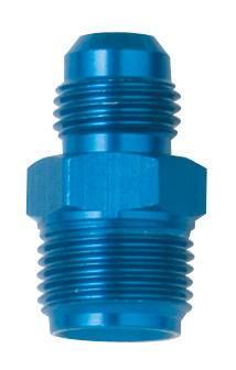 """Fragola - FRA491950 -  Fragola Carburetor  or Fuel Pump Adapter,Blue,6AN to 5/8""""-20 Male,Carter"""