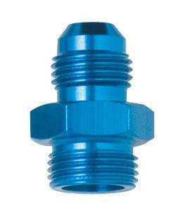 "Fragola - FRA491951 -  Fragola Carburetor  or Fuel Pump Adapter,Blue,6AN to 9/16""-24 Male BG Demon"