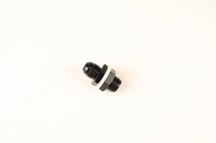 Fragola - FRA483110-BL - Fuel Cell Bulkhead Fitting, Black, 10AN