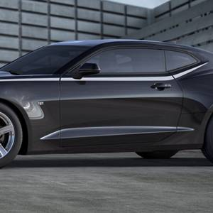Chevrolet Performance Parts - 23507053 - Body Side Spear Decal/Stripe Package, 2016-17 Camaro Coupe Only, Nightfall Gray Metallic (G7Q)