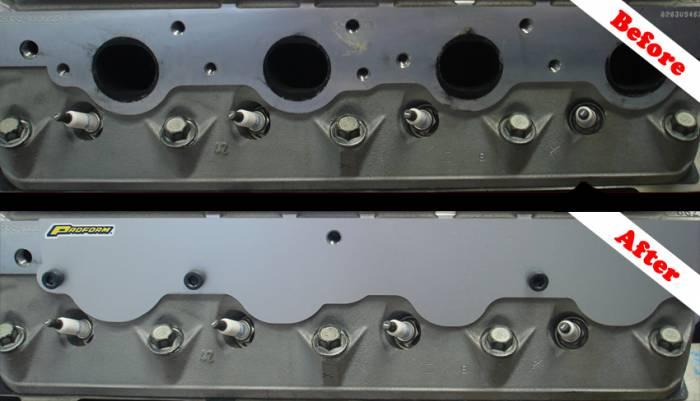 Proform - 66146 - LS 376 Exhaust Port Covers, 2 Piece