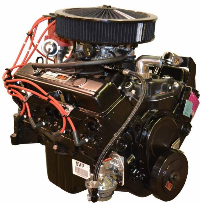 PACE Performance - GMP-12681429-2 - Pace Chevy 350 260HP Engine with Black Trim