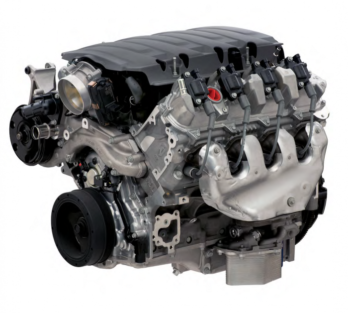 Chevrolet Performance Parts - LT376/535 Wet-Sump Crate Engine by Chevrolet Performance  6.2L 535 HP 19355378
