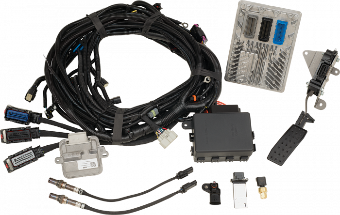 Chevrolet Performance Parts - 19370322 - CPP LT376/535 Controller Kit  - Contains Pre-Programmed ECU, Harness, Sensors