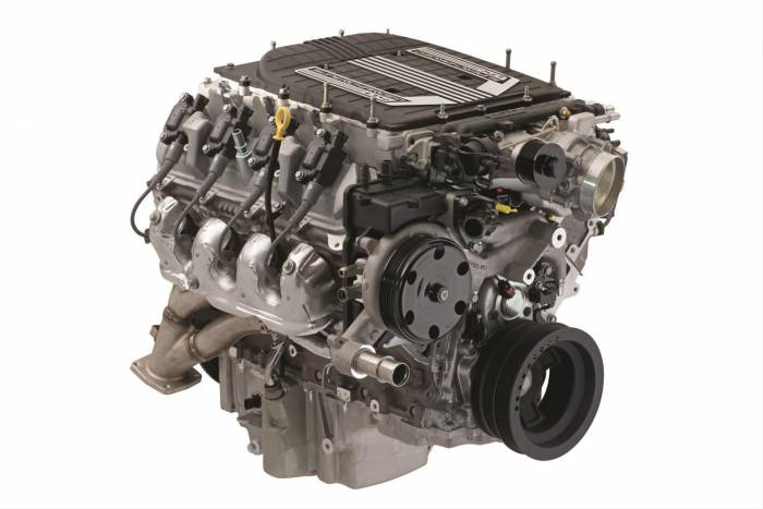 Chevrolet Performance Parts - LT4 6.2L Supercharged Crate Engine 2017-2019 650 hp 650 lbs torque Wet Sump Digital Fuel Sensor 19418844