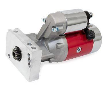 TSP - TSP-JM7001R - Chevy Small Block & Big Block V8 Inline - Mount, 168T or 153T - 3HP Mini Starter - Red
