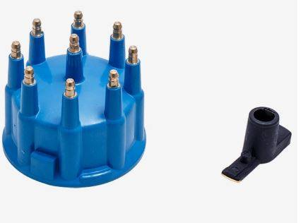 TSP - TSP-JM6971BL Top Street Cap and Rotor Kit - Male - 208 Series Cap w/Clamp on Style Cap. Blue