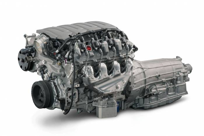 """Chevrolet Performance Parts - CPSLT1W8L90E - GM LT1 455HP Wet Sump Engine with 8L90E 8-Speed Auto Transmission Combo Package - """"$500.00 REBATE"""""""