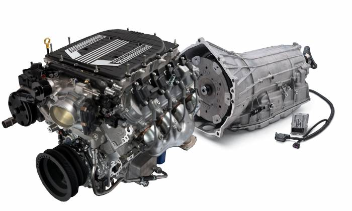 Chevrolet Performance Parts - LT4 640HP Wet Sump Engine with 8L90E 8-Speed Auto Transmission Combo Package $500 REBATE CPSLT4W8L90E GM