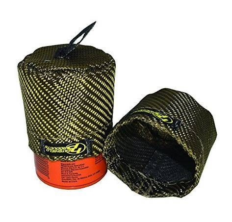 Heatshield Products - HSP504703 - Heatshield Lava Oil Filter Shield, Fits LS, LT1, LT4 Series PH3506 or equivalent