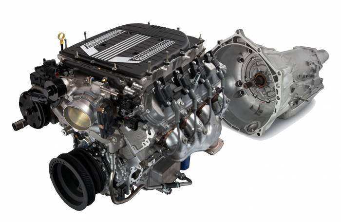 Chevrolet Performance Parts - LT4 650HP Dry Sump  Engine with 4L75E Trans $500 REBATE CPSLT44L75ED Cruise Package