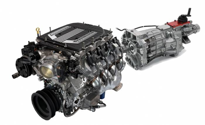 """Chevrolet Performance Parts - CPSLT4T56W - Cruise Package LT4 650HP Wet Sump  Engine w/T56 Trans """"$500.00 REBATE"""""""