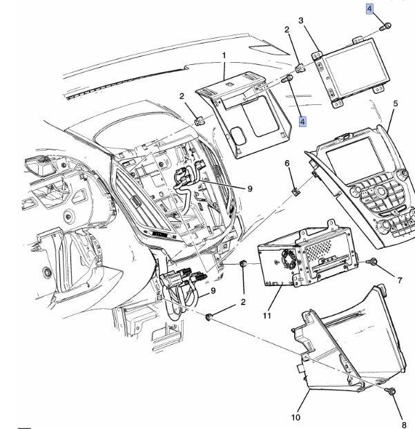 GM (General Motors) - 11547755 - Screw  - Sold Individually.