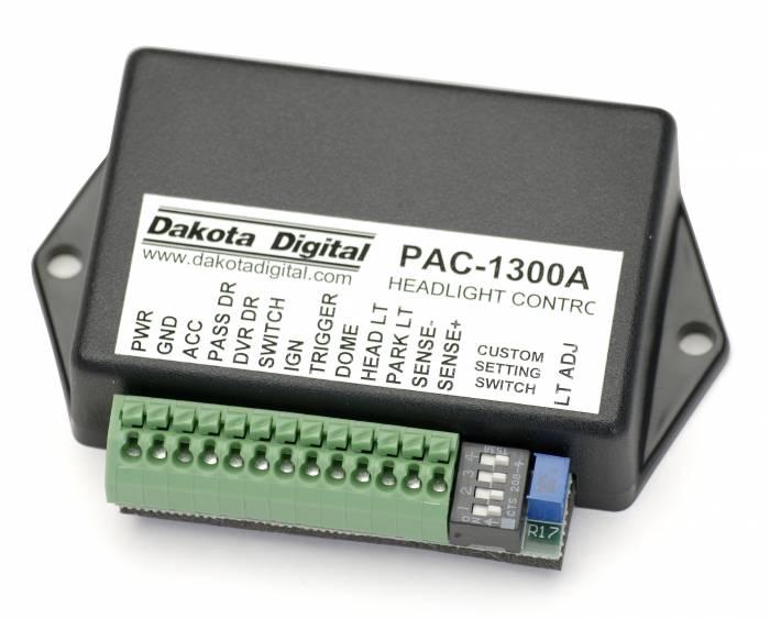 Dakota Digital - DAKPAC-1300 - Retained Acc Power, Domelight, Auto Headlight
