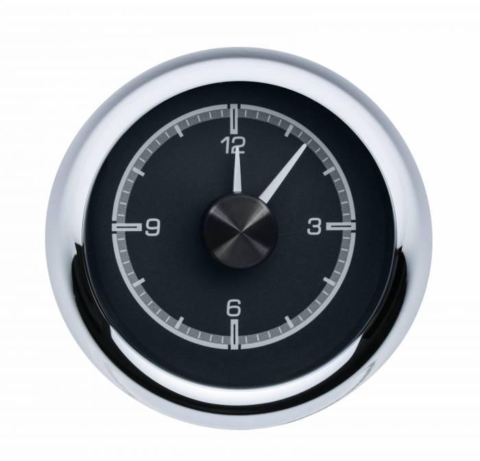 Dakota Digital - DAKHLC-55C-K - 1955-56 Chevy Car HDX Style Clock, Black Face