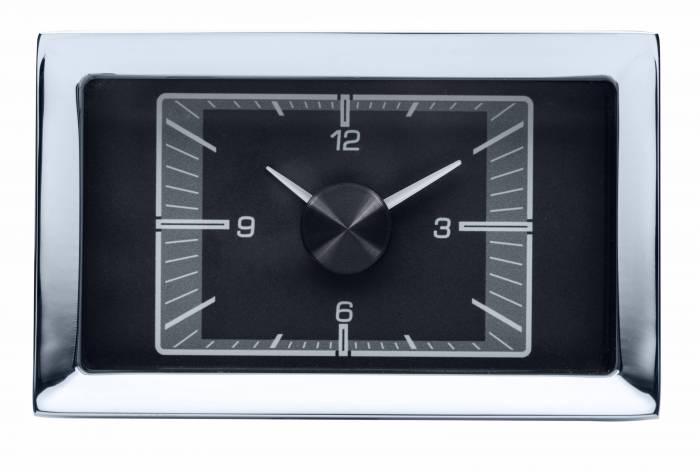Dakota Digital - DAKHLC-57C-K - 1957 Chevy Car HDX Style Clock, Black Face