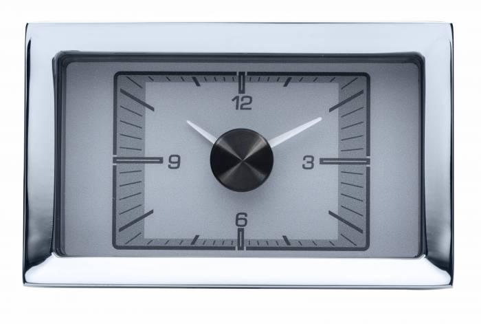 Dakota Digital - DAKHLC-57C-S - 1957 Chevy Car HDX Style Clock, Silver Face