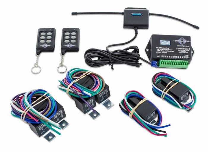 Dakota Digital - DAKCMD-X - Universal 6-12 Function Accessory Controller