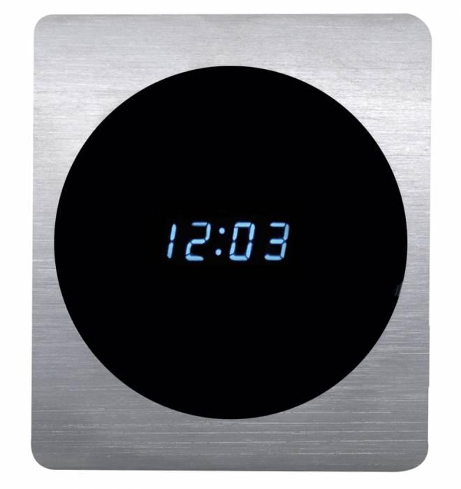 Dakota Digital - DAKALC-40-CLK - 40 Ford aluminum clock panel w/clock