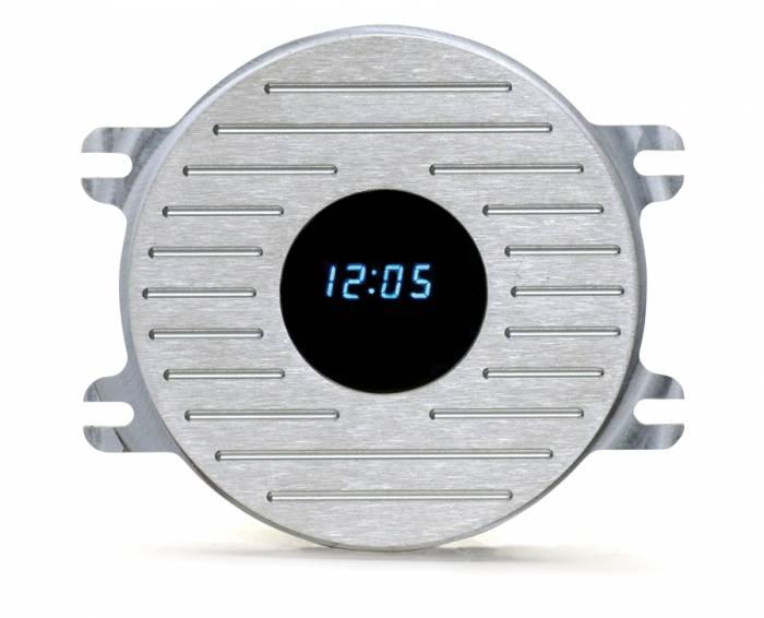 Dakota Digital - DAKCALC-41-CLK - 41-48 Chevrolet clock panel w/VFD clock