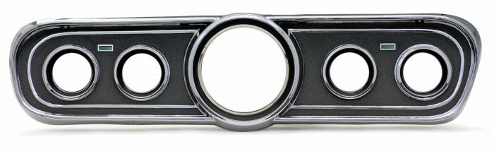 Dakota Digital - DAK610085 - 1965-66 Ford Mustang Bezel, Black finish - Not Shown