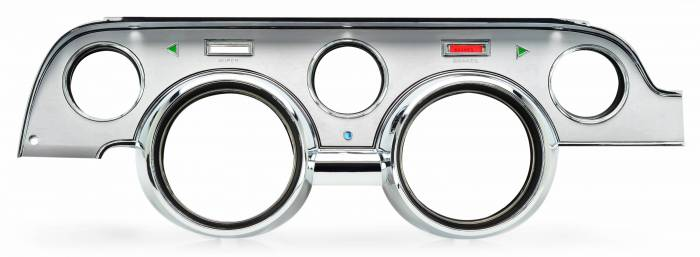Dakota Digital - DAK610090 - 1967 Ford Mustang Bezel, Brushed Aluminum finish - Not Shown