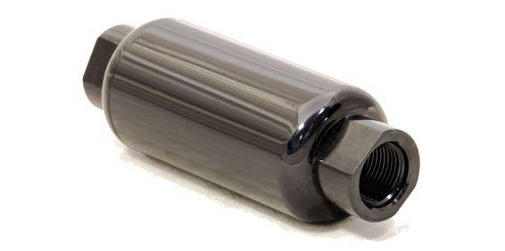 FiTech Fuel Injection - FTH-80111 - FiTech Fuel Injection 100 Micron Inline EFI Fuel Filter -  10AN ORB Female Ports
