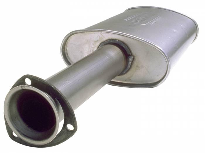 Hedman Hedders - Hedman Hedders Turbo Hedder Gasket Style Collector Muffler 25662