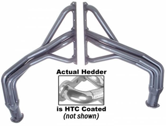 Hedman Hedders - Hedman Hedders Standard Duty HTC Coated Headers 69516