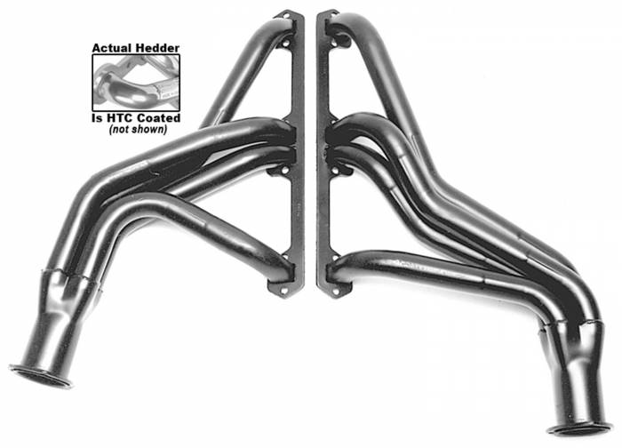 Hedman Hedders - Hedman Hedders Standard Duty HTC Coated Headers 99246