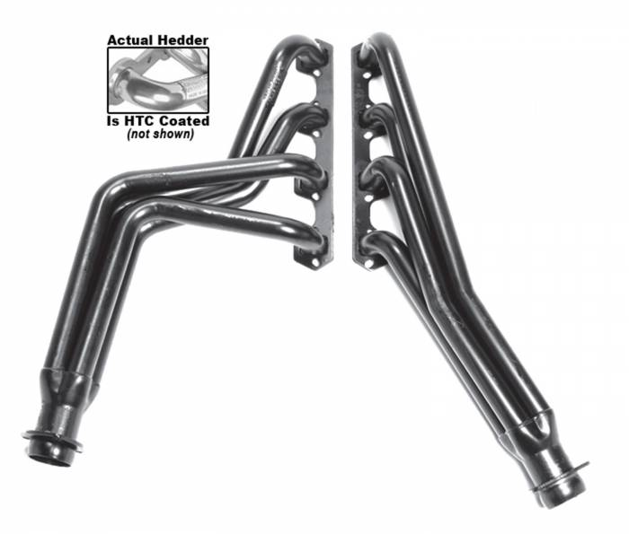 Hedman Hedders - Hedman Hedders Standard Duty HTC Coated Headers 89416