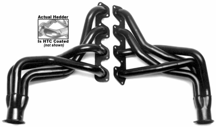 Hedman Hedders - Hedman Hedders Standard Duty HTC Coated Headers 89336