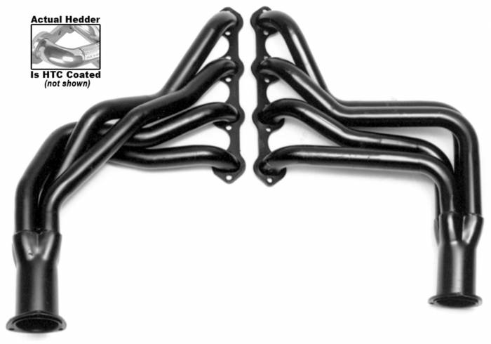 Hedman Hedders - Hedman Hedders Standard Duty HTC Coated Headers 89166