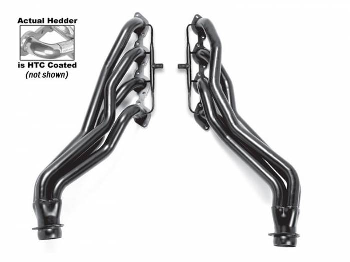 Hedman Hedders - Hedman Hedders Standard Duty HTC Coated Headers 66451