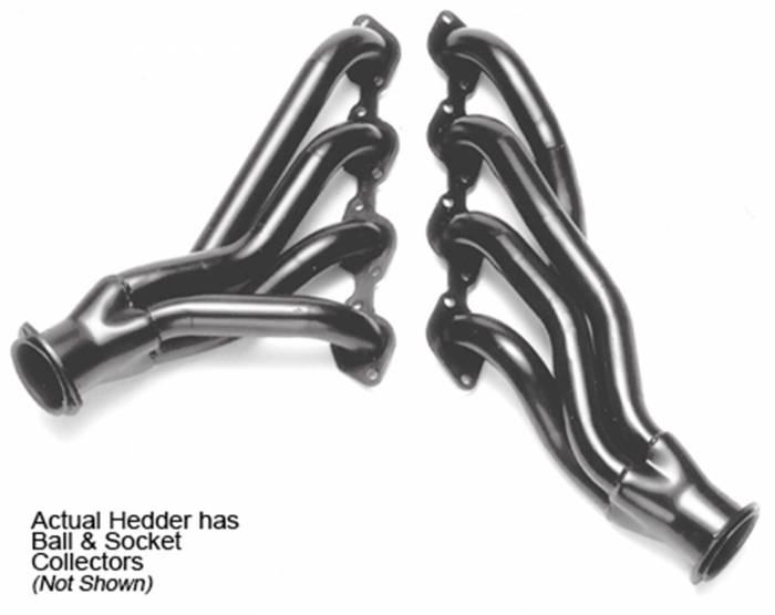 Hedman Hedders - Hedman Hedders Standard Duty Uncoated Headers 68611
