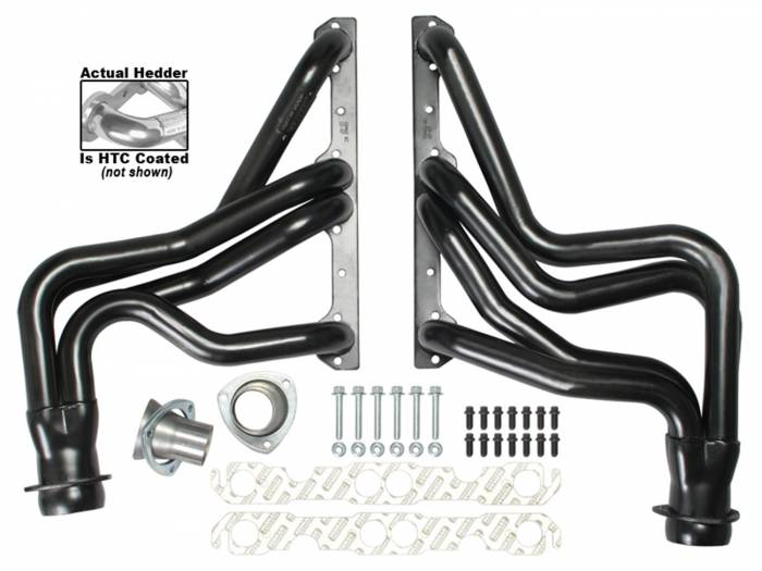 Hedman Hedders - Hedman Hedders Standard Duty HTC Coated Headers 68466