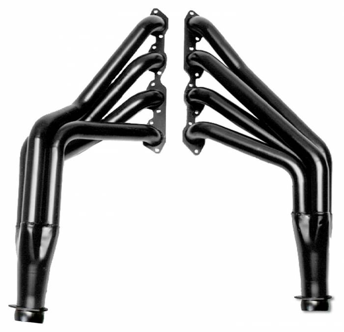 Hedman Hedders - Hedman Hedders BLACK MAXX Standard Duty Coated Headers 63001