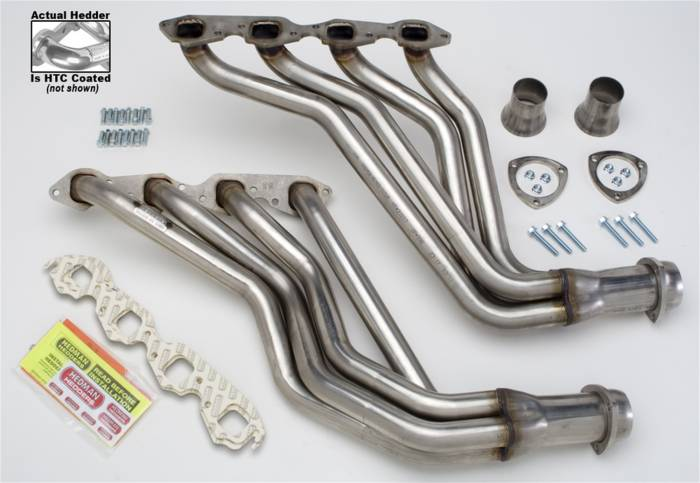 Hedman Hedders - Hedman Hedders Standard Duty HTC Coated Headers 62826