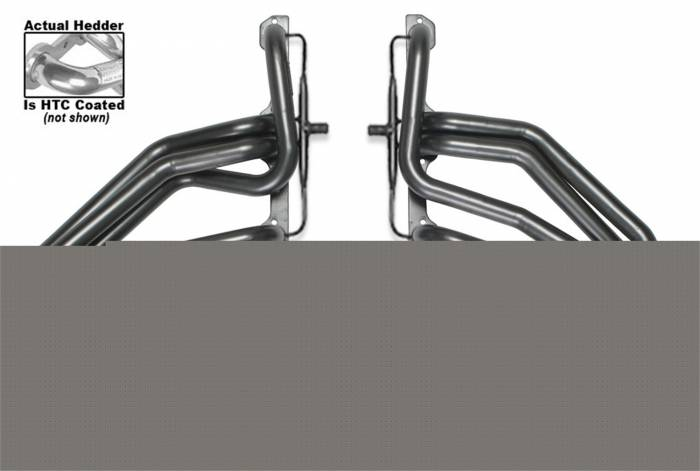 Hedman Hedders - Hedman Hedders Standard Duty HTC Coated Headers 66091