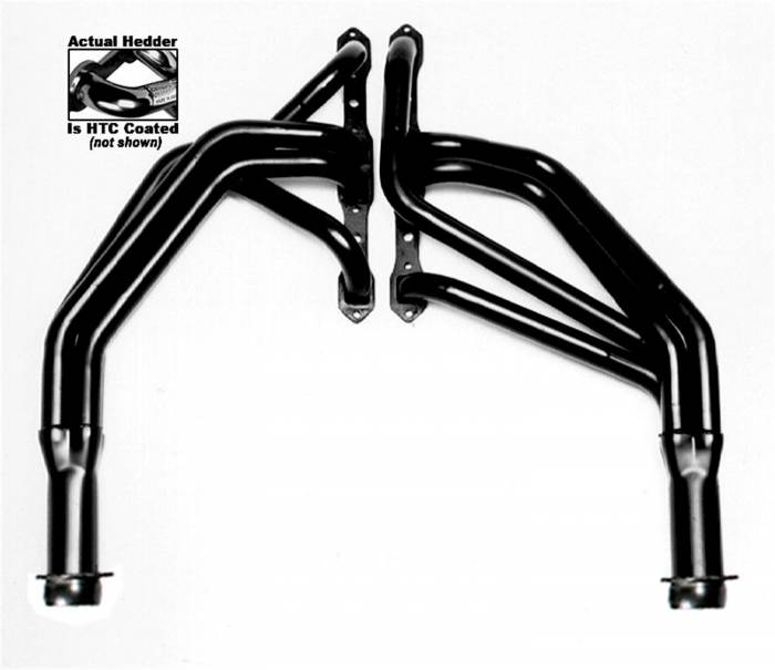 Hedman Hedders - Hedman Hedders Standard Duty HTC Coated Headers 79226