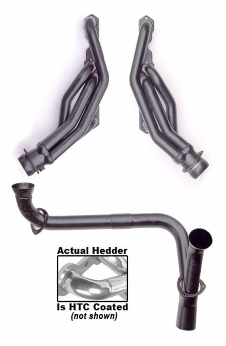 Hedman Hedders - Hedman Hedders Standard Duty HTC Coated Headers 69476