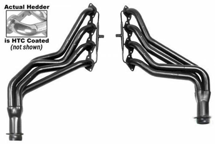Hedman Hedders - Hedman Hedders Standard Duty HTC Coated Headers 66121