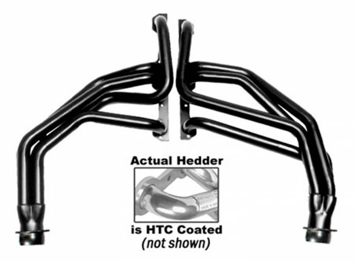 Hedman Hedders - Hedman Hedders Standard Duty HTC Coated Headers 66092