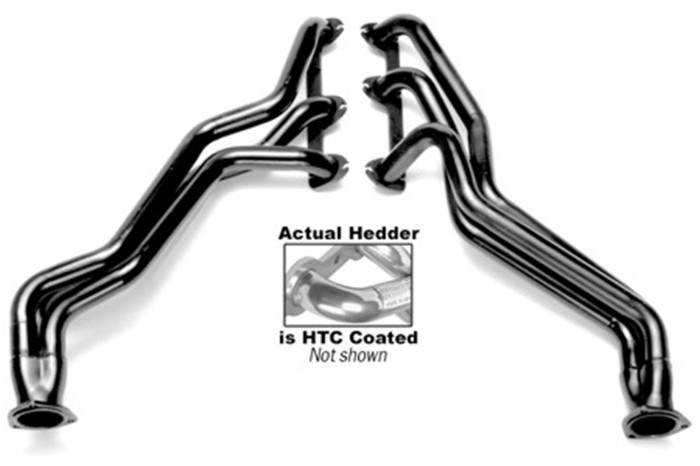 Hedman Hedders - Hedman Hedders Standard Duty HTC Coated Headers 69376