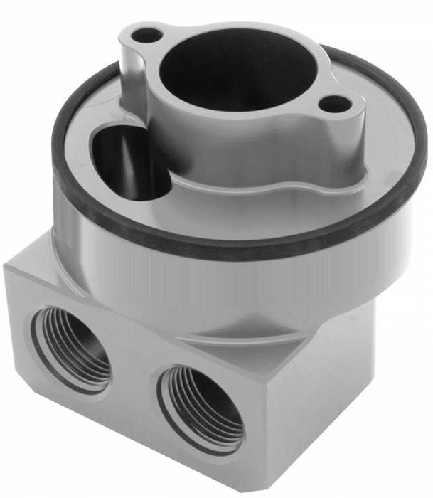 Trans-Dapt Performance Products - Trans-Dapt Performance Products 90 Degree Oil Filter Bypass Adapter 3329