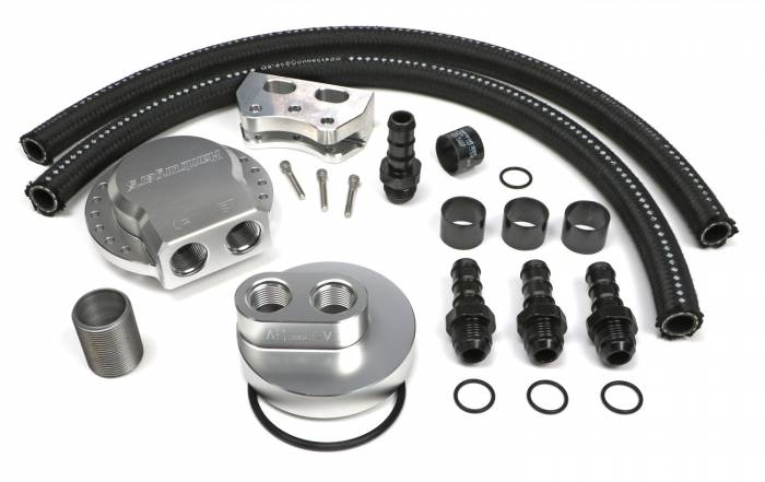 Trans-Dapt Performance Products - Trans-Dapt Performance Products Multi Position Oil Filter Relocation Kit 3379