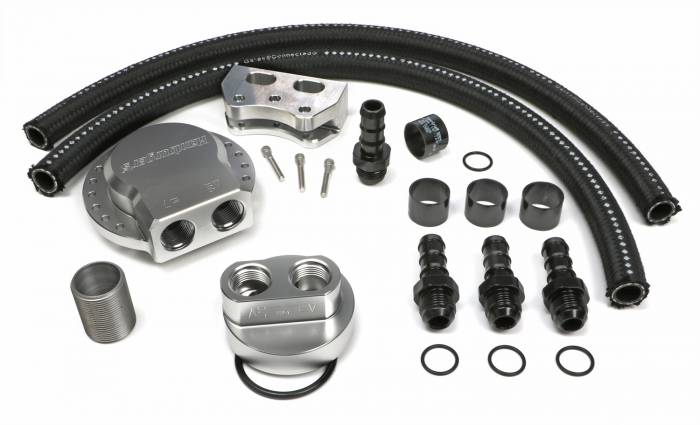 Trans-Dapt Performance Products - Trans-Dapt Performance Products Multi Position Oil Filter Relocation Kit 3378