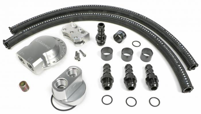 Trans-Dapt Performance Products - Trans-Dapt Performance Products Multi Position Oil Filter Relocation Kit 3375
