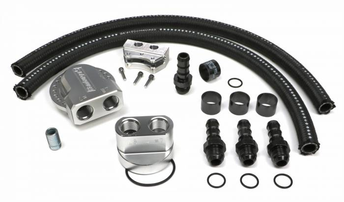 Trans-Dapt Performance Products - Trans-Dapt Performance Products Multi Position Oil Filter Relocation Kit 3373
