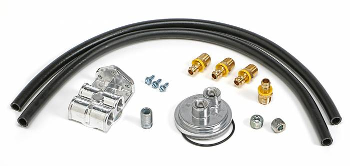 Trans-Dapt Performance Products - Trans-Dapt Performance Products Single Oil Filter Relocation Kit 1522